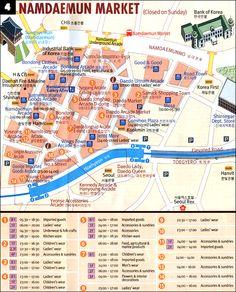 Info on visiting Namdaemun Market