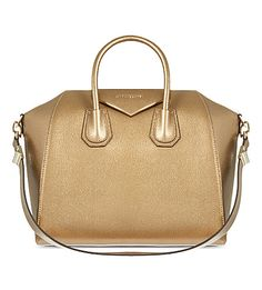 #GIVENCHY Antigona medium leather #gold #tote    THE GOLD LEATHER IS LIMITED EDITION