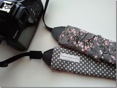 I love this ruffled camera strap cover.  I am so making one!!!  I have wanted a pretty camera strap for a while but it is never at the top of the list of things to spend money on.  This I can make free with stuff I already have!! :)