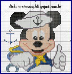 Boa sexta feira a todos!  Hoje o Mickey resolveu cruzar os mares, e claro que registrei isso rsrsrs:    aqui o gráfico:          para quem q...
