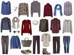 The Vivienne Files: A 4 by 4 Wardrobe in Denim, Wine, Grey and... (AWOL)