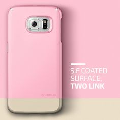 Amazon.com: Galaxy S6 Edge Case, Verus [Two Tone Slide] Samsung Galaxy S6 Edge Case [2Link][Sugar Pink]: Cell Phones & Accessories  *Avail in 6 colors!