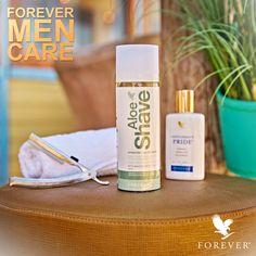 Forever Men Care Start your day with Aloe Shave & Gentleman's Pride!  #AloeShave #GentlemansPride