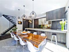 Beautiful kitchen and dinning area. #Lights  36 Blowhole Road, Blackmans Bay, Tasmania