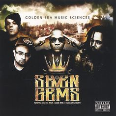 7 G.E.M.S. - 'Golden Era Music Sciences' CD/ LP $12.97 / $18.97 Tragic Allies team up with tha god Tragedy Khadafi for a great collabo album with a classic gritty boom bap golden era feel that doesn't come off contrived or unoriginal like many albums that attempt to 'bring it back' tend to do. emcees Estee Nack and Purpose hold it down with certified vet Tragedy, Purpose's production knocks, definitely a banger.