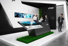 Citrix exhibition stand design | | GM Stand Design