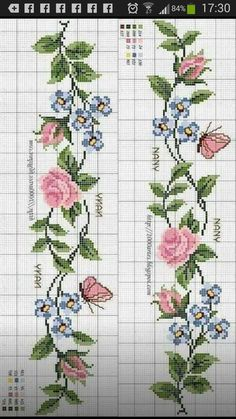 1 million+ Stunning Free Images to Use Anywhere Cross Stitch Fruit, Cross Stitch Borders, Cross Stitch Rose, Cross Stitch Flowers, Cross Stitch Designs, Cross Stitching, Cross Stitch Patterns, Hand Embroidery Designs, Ribbon Embroidery