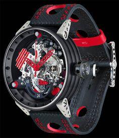 La Cote des Montres : La montre BRM R50-VT TJ et TR TestaRossa - BRM célèbre les 10 ans de la R50 !