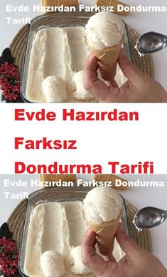 Frozen Yogurt Recipes, Turkish Recipes, Dessert Recipes, Desserts, Baby Knitting Patterns, Food Design, Nutella, Smoothies, Food And Drink
