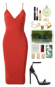 """i hear footsteps"" by sodanceinthedark ❤ liked on Polyvore featuring Yves Saint Laurent, Sole Society, Kenneth Jay Lane, Gorjana, Isaac Mizrahi, Chanel, Byredo, NARS Cosmetics, Sonix and TOMS"