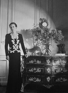 Wallis Simpson wearing Shiaparelli
