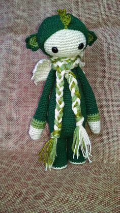 Dirk the Dragon Modified Lalylala Crochet by FromHandsofSisters, $25.00