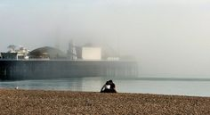 Brighton on a misty morning
