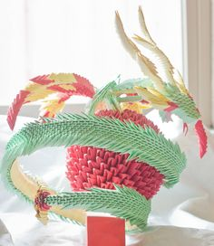 origami dragon of awesome
