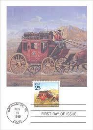 US mail coach