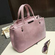 Hot Sale Nubuck Leather Women Top-Handle Bags Candy Color Women Shoulder Bag Rivet Women Bags Online Order – Wallreview Online Store