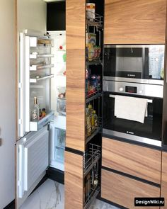 Kitchen Room Design, Home Room Design, Kitchen Cabinet Design, Home Decor Kitchen, Interior Design Kitchen, Modern Kitchen Interiors, Contemporary Kitchen Design, Modern Farmhouse Kitchens, Pantry Design