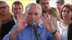 """🔴 🔵 Michel Temer """"DESAFIA O BRASIL"""" e diz que vai votar a """"Reforma da Pr..."""
