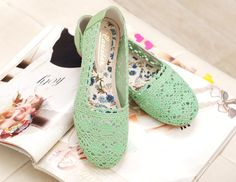 flat shoes 플랫슈즈 #vintage #green