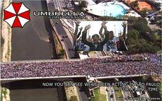 Marcha para qualquer coisa (MENOS JESUS!) em São Paulo: Spiritual Zombies trying to eat my faith!