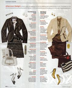 InStyle Instant Style Nov 2007 - Afternoon Delight