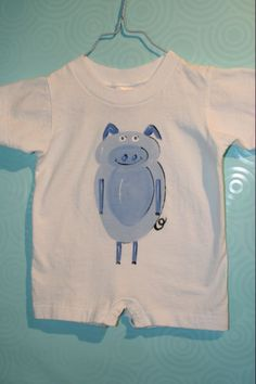 'Paxton the Pig' Romper