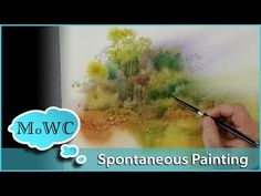 Painting a Grassy Field in Watercolor – Masking Fluid Technique - YouTube