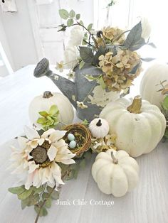 Junk Chic Cottage: Trying to Get My Fall Mojo On