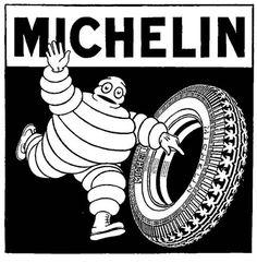 Bibendum (the Michelin man).