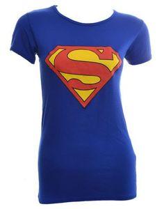 Womens Superman T Shirt Amazon.com: Clothing