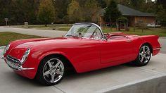 1954 Chevrolet Corvette Resto Mod Art Morrison Chassis, Z06 Drivetrain presented as lot S116 at Houston, TX 2015 - image1