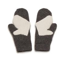 Winter handholding can be difficult; two sets of bulky gloves can mean that little hands slip out of reach. With this clever design, an adult and child can hold hands in comfort in one warm glove.