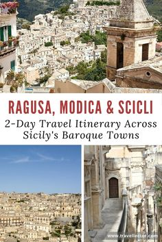 Ragusa, Modica & Scicli: 2-Day Travel Itinerary Across Sicily's Baroque Towns | Travellector #travel #travelitinerary #Ragusa #Modica #Scicli #Sicily #baroque #Italy