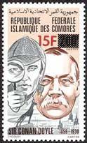 Literary Stamps: Doyle, Arthur Conan (1859 - 1930)