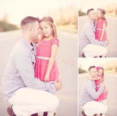 Daddy Daughter, valentines, family photography