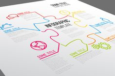 Infographic Template - Puzzle by Orson on Creative Market