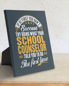 Succeed School Counselor The First Time - Charcoal Grey lunche for school, highschool back to school, mouses first day of school #BackToSchoolWithBraces #backtoschoolpromos #backtoschoolmonday, dried orange slices, yule decorations, scandinavian christmas Back To School For Teens, Back To School Highschool, Back To School Quotes, Back To School Night, Back To School Crafts, Back To School Hacks, Back To School Teacher, Back To School Activities, School Classroom