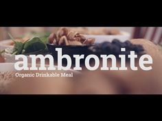 Ambronite - Organic Drinkable Supermeal