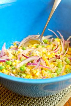 Edamame, Corn and Quinoa Salad | Tasty Kitchen: A Happy Recipe Community!