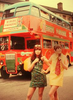 Swinging London - Minis. In a 1960s interview Agatha Christie claimed she was baffled by the fact that mini skirts were considered sexy.