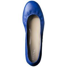 35a05132095c8 Women s Merona® Emma Genuine Leather Scrunch Flat - Cobalt Cobalt