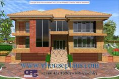 Home Collections, All Design, House Plans, Brick, Garage Doors, Bedrooms, Castle, Windows, How To Plan
