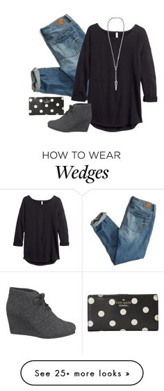 """We are the light of the world. We are the city on a hill"" by madelynprice on Polyvore featuring American Eagle Outfitters, H&M, maurices, Chan Luu and Kate Spade"