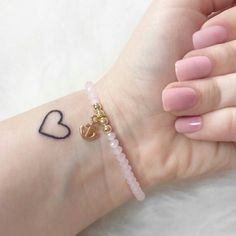 Love this little heart. @inkspiringtattoos