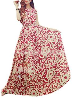 Bestal Women's Floral Sleeveless Maxi Dresses Sundress Beach Party Skirt Bestal http://www.amazon.com/dp/B00VHSSA42/ref=cm_sw_r_pi_dp_Qhi4wb0H92M1H