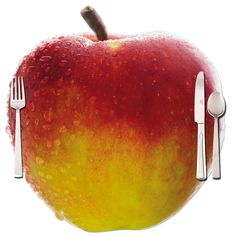 Placemat in form of an apple printed both sides and cutted in the shape of the apple. Nice for table #decorations. https://www.rosemarie-schulz.eu/en/placemats/429-placemat-apple.html