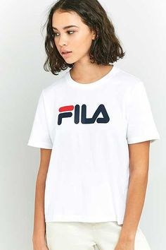 FILA White Eagle T-shirt Tee A Manica Corta e4c9466ddfc