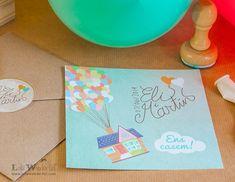 Lola Wonderful_Blog: Invitación de boda temática UP! Te invitamos a volar