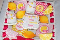 Pink Lemonade Cookies #pinklemonade #lemonade #lemonadestand