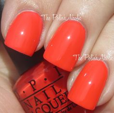 Formidably Orange - O.P.I. Nail Polish